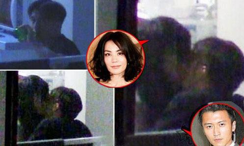 王菲和谢霆锋同居照 在北京公寓幽会同居照片流出