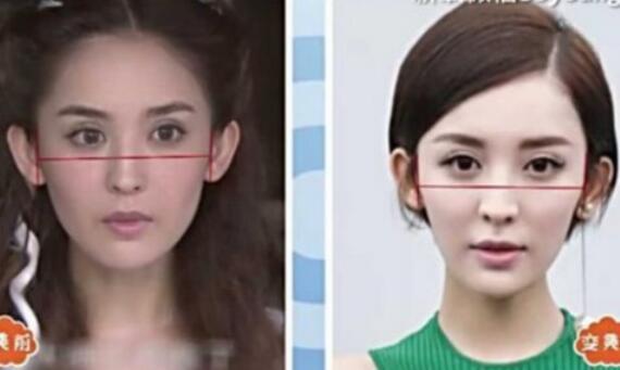 古力娜扎整容前后照片曝光 整容前后由大圆脸变标准大眼小V脸美女