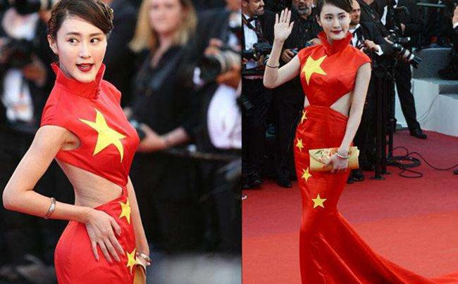 热点娱乐网社电影>网红美女装蹭红毯所以今年的戛纳电影节刘昊然演过的国旗图片