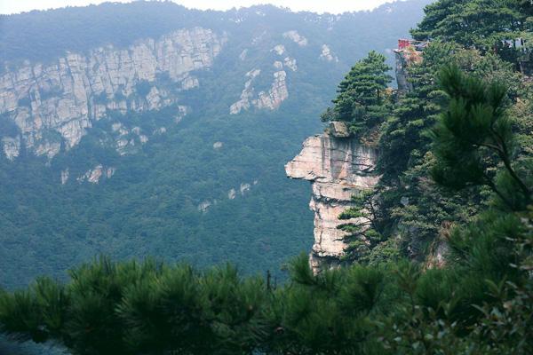 社会热点 > 网友拍庐山巨人像     庐山风景区位于江西,因为其自然
