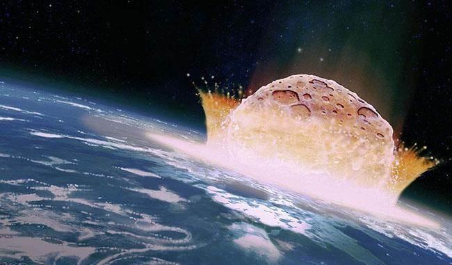 小行星撞击云南 中秋夜巨大流星预示着什么图片