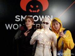 SMTOWN万圣节派对 金泰妍的安娜贝尔超级像